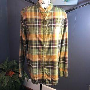 Lauren Ralph Lauren plaid shirt sz L Women's top